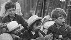Children during the Blitz