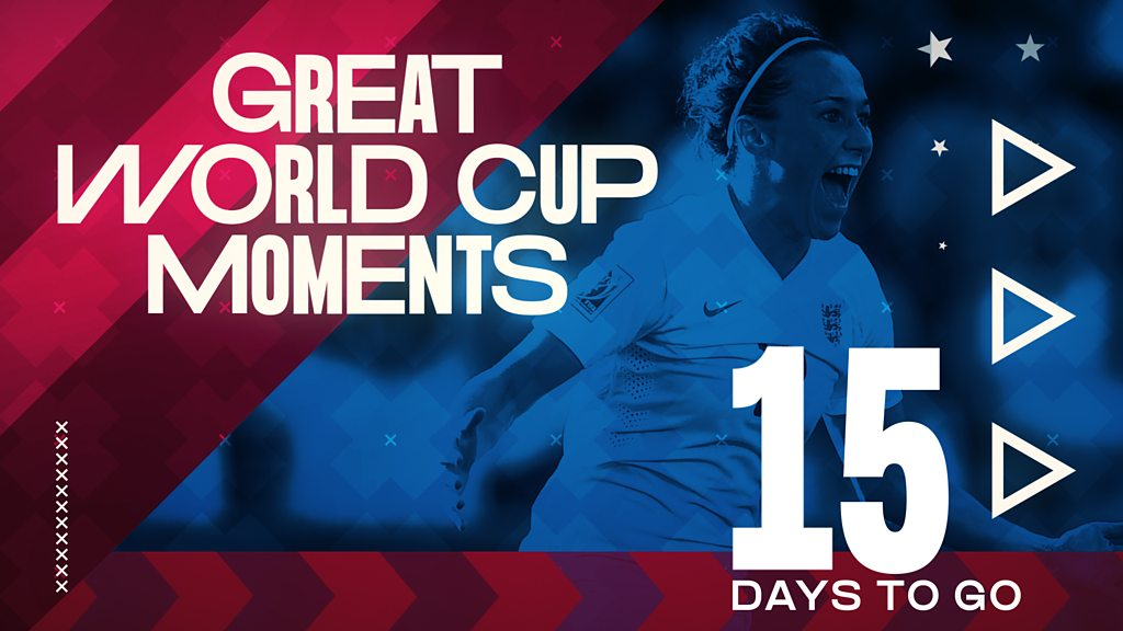 Women's World Cup 2019: Lucy Bronze's 'belter' for England against Norway in 2015