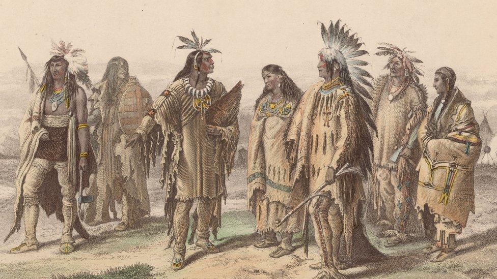 Tribus nativas de EE.UU.