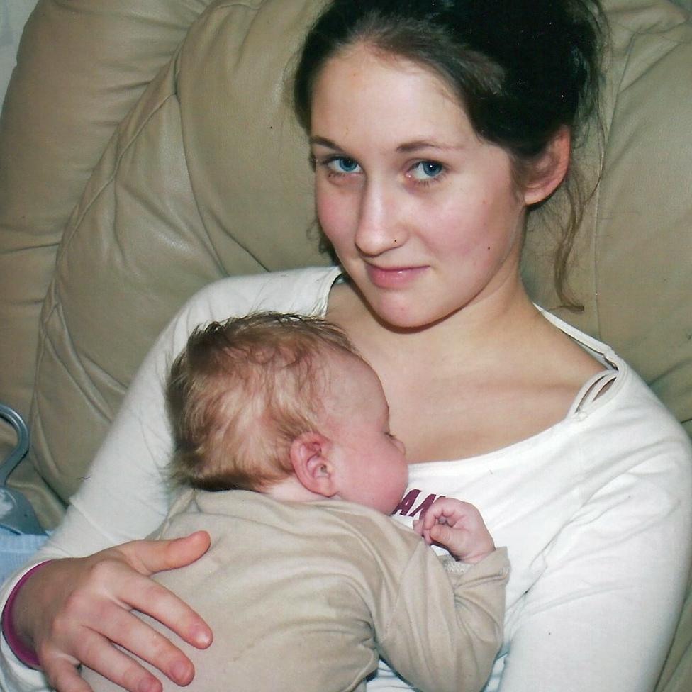 Mientras Lucie estuvo embarazada sus síntomas desaparecieron y se sentía muy bien.