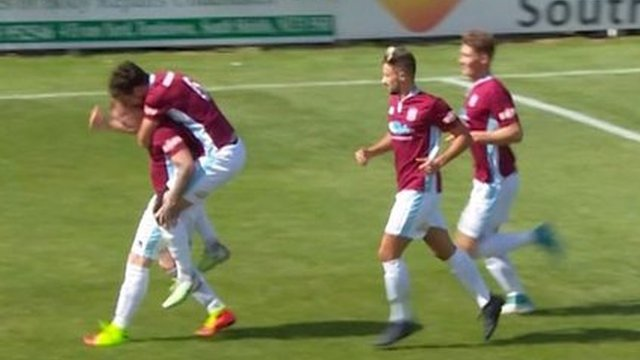 FA Cup highlights: South Shields 3-1 Bridlington Town