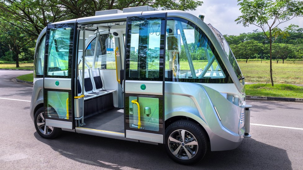 Singapore to use driverless buses 'from 2022'