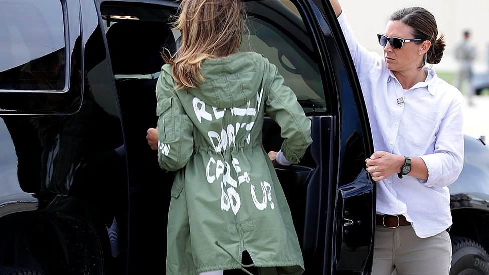 Melania Trump jacket: Five things 'I don't care' could mean