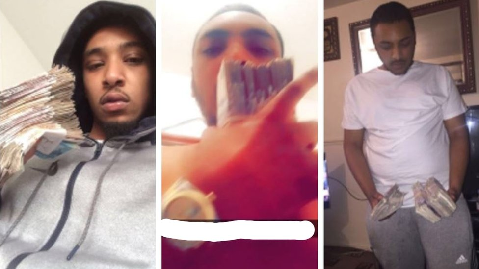 Guilty drugs gang flashed cash on Snapchat
