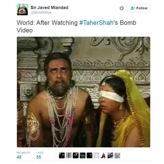World:After Watching #TaherShah's bomb video