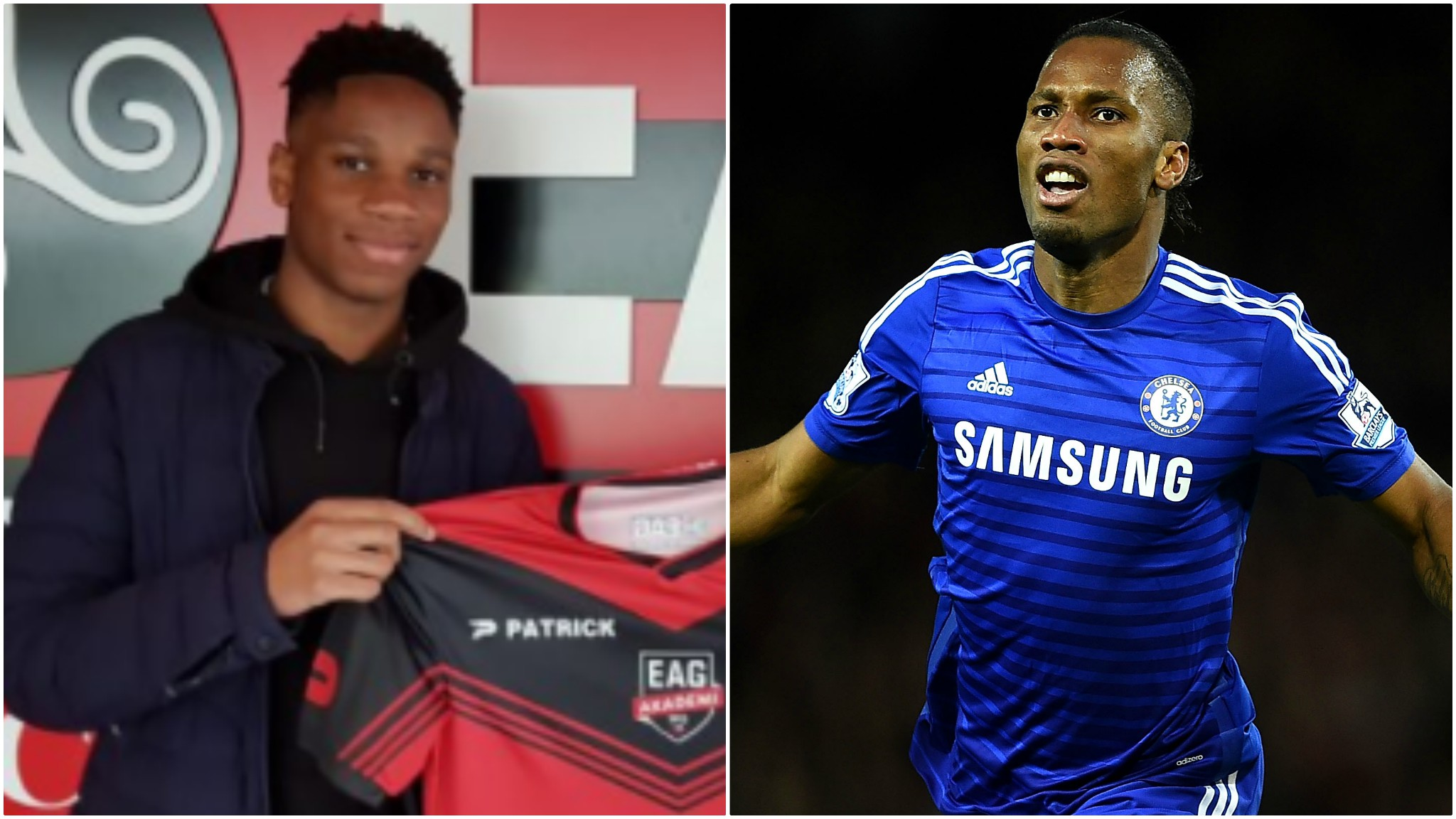 Didier Drogba's 17-year-old son Isaac joins French Ligue 1 side Guingamp