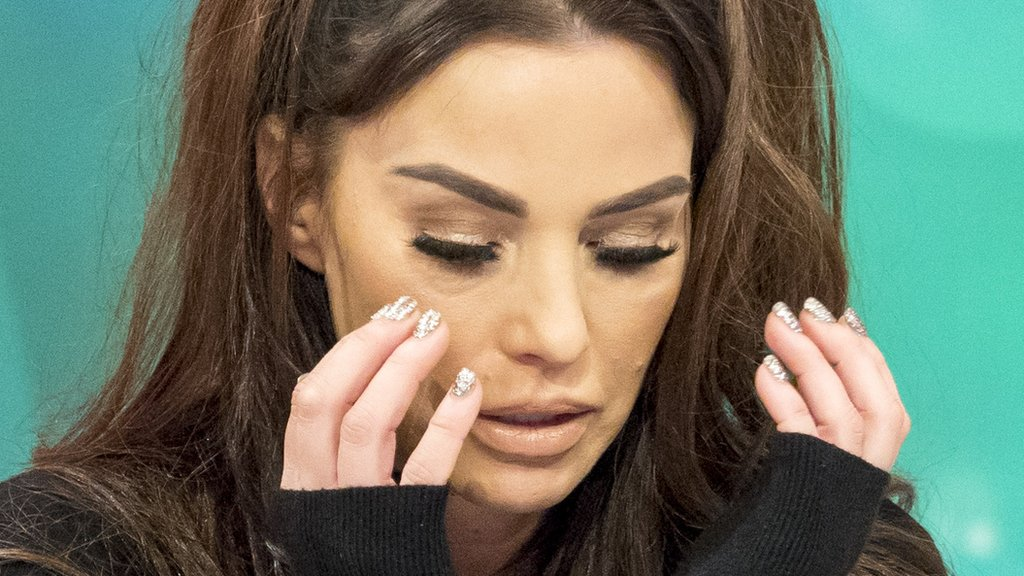 Katie Price breaks down over what could be 'last Christmas' with her mum
