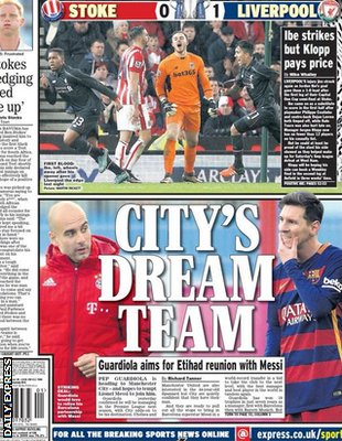 Today's newspaper gossip: Real Madrid to pay £100m for Hazard; Guardiola heading to Man City