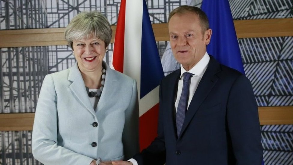 Donald Tusk: EU's 'heart still open to UK' over Brexit