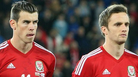 Gareth Bale and Andy King