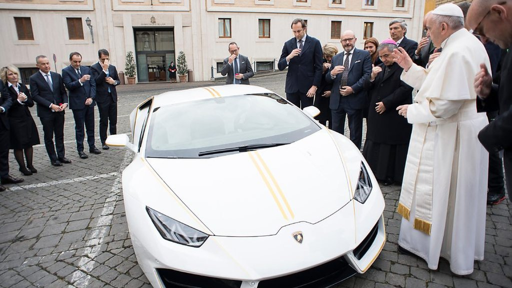 Lamborghini for a Pope and other stories you may have missed