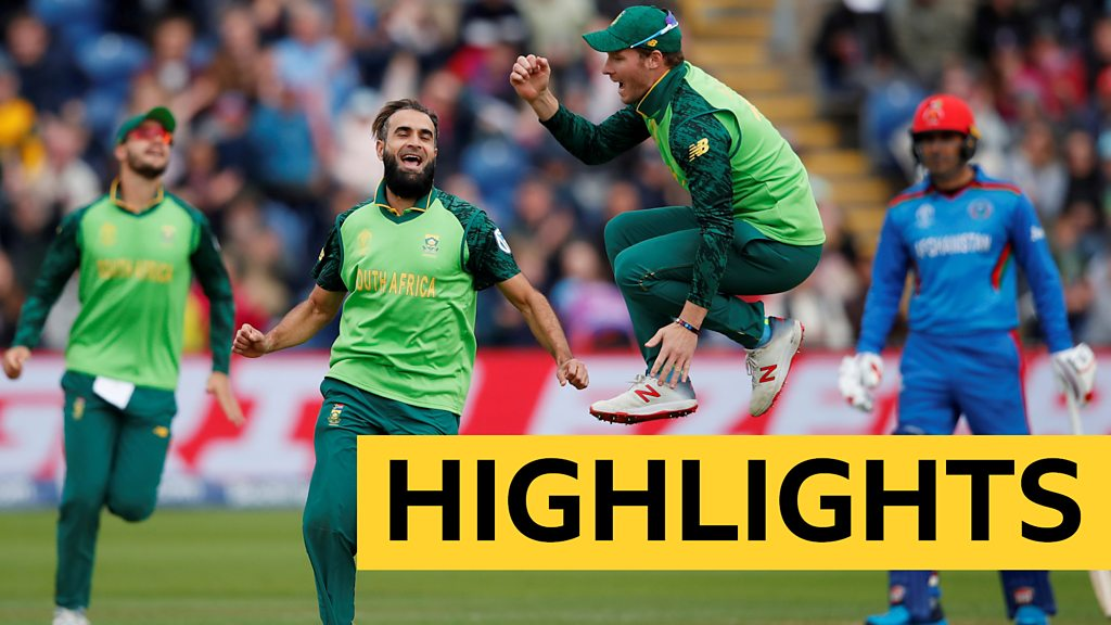 Cricket World Cup highlights: South Africa beat Afghanistan for first win