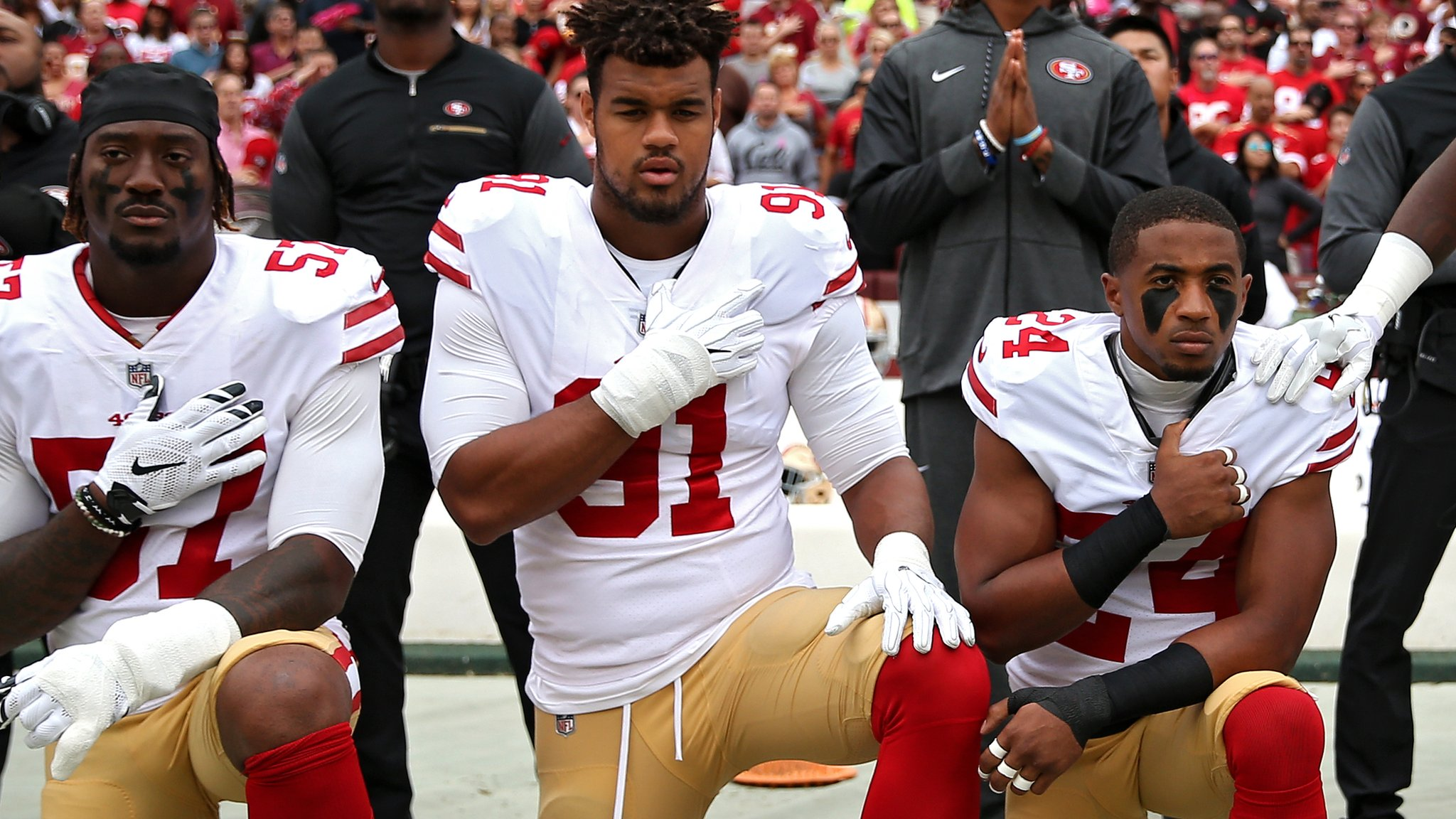 NFL says it will seek compromise over 'taking the knee' anthem protests