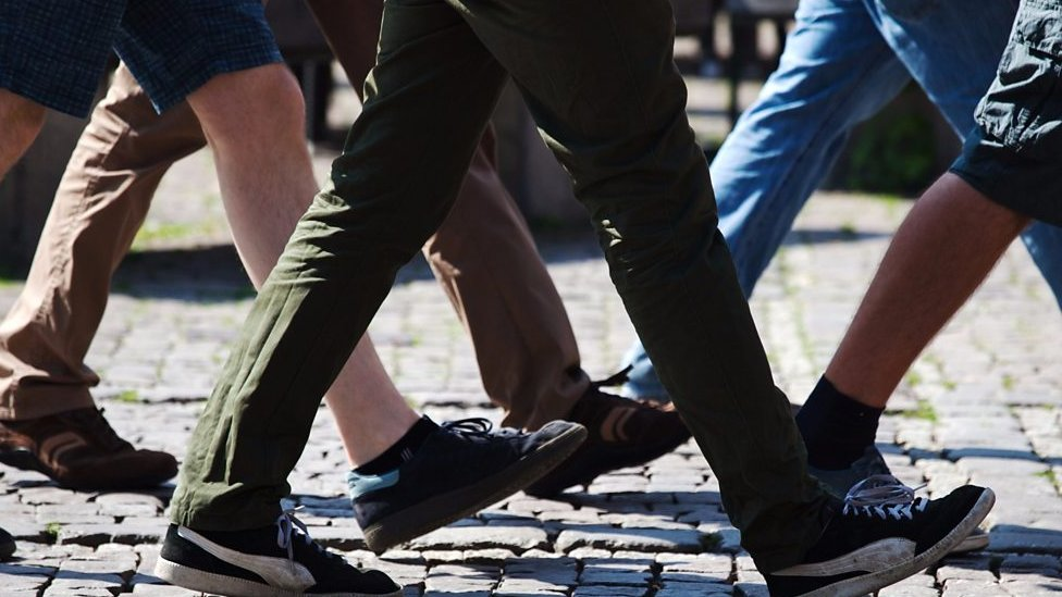 Health officials advise older people to walk faster