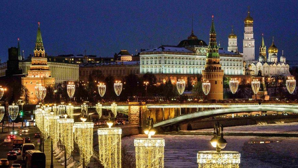 Una foto del Kremlin