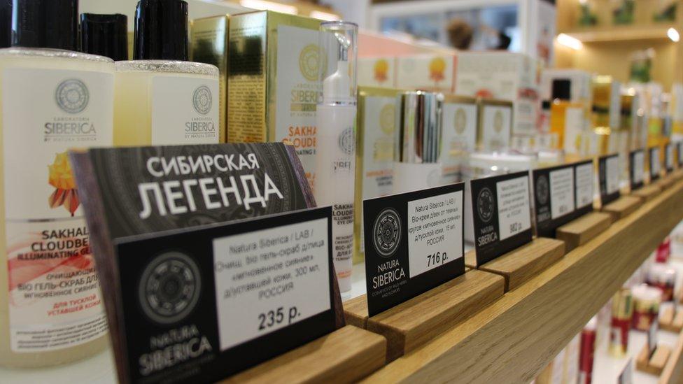 Natura Siberica tiene una facturación anual de aproximadamente US$300 millones, emplea a 4.000 personas en el mundo y exporta a 45 países.