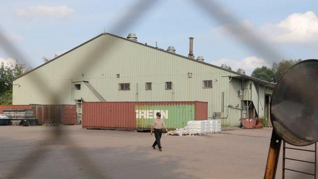 أحد مخازن البعثات الأمريكية في موسكو