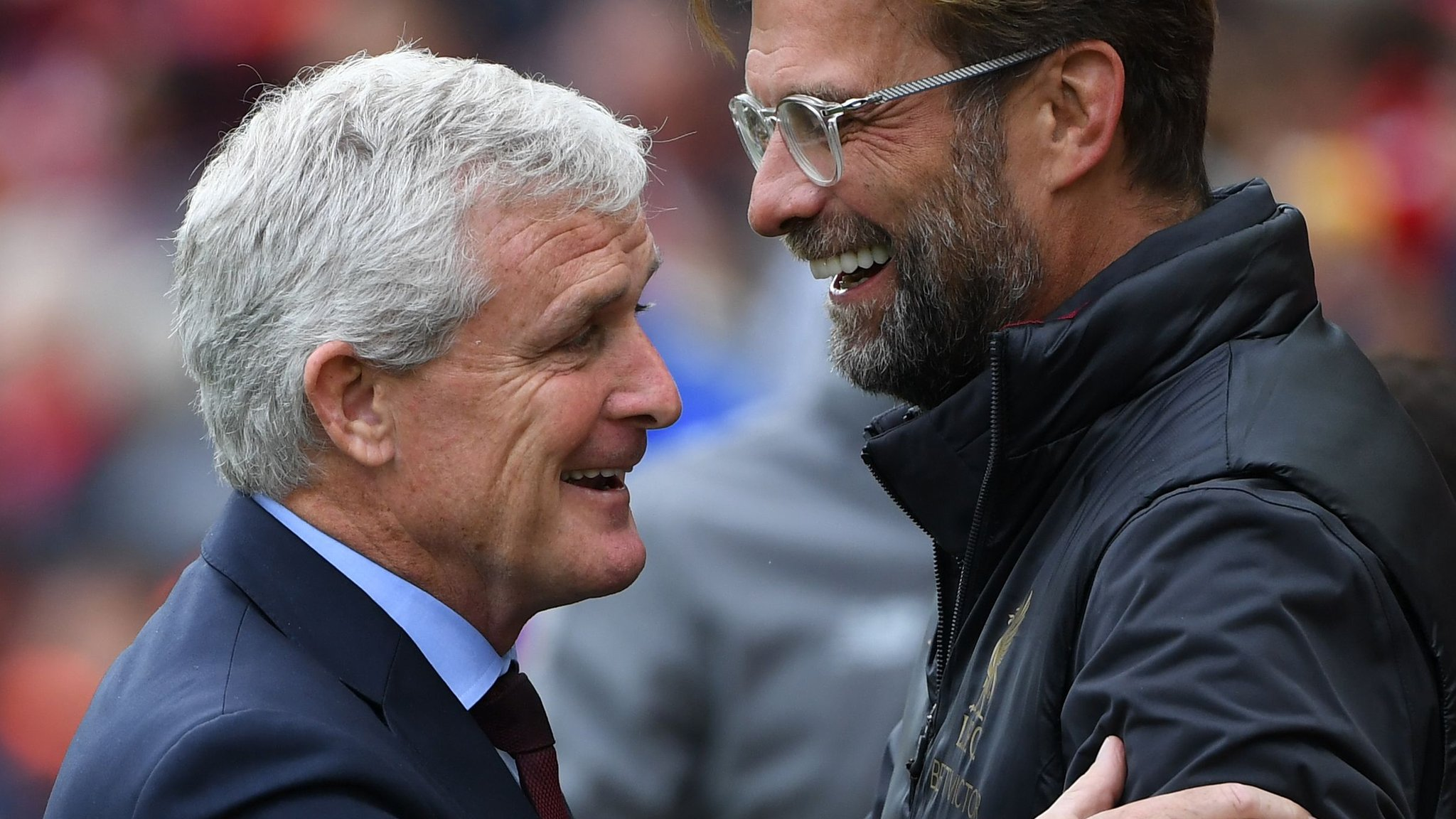 Klopp 16-3 Hughes - Saturday's best Premier League stats