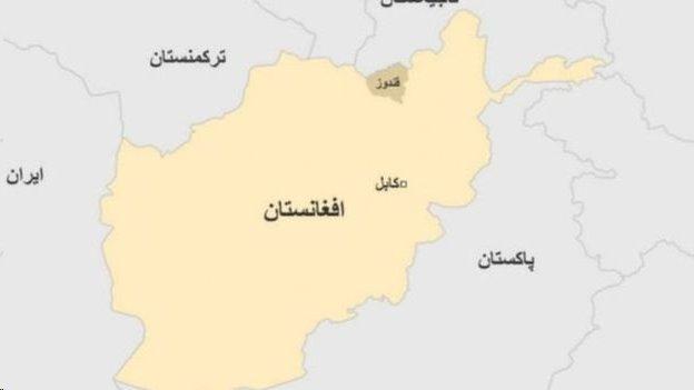 فرمانده نیروهای طالبان در قندوز 'کشته شد'