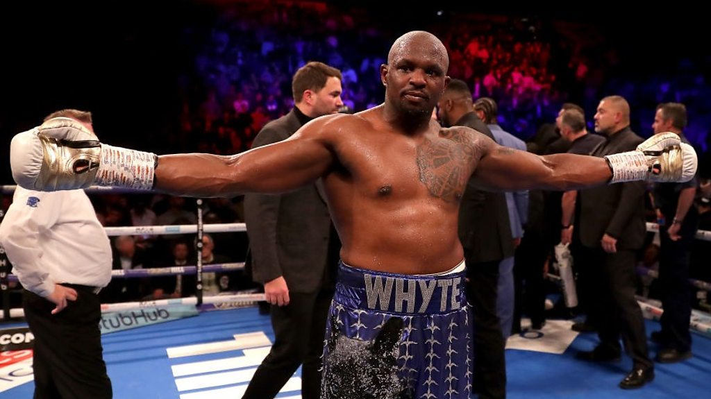 Dillian Whyte: Anthony Joshua made 'silly' offer for 'rubbish' money