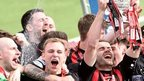 Crusaders retained the Irish Premiership for the first time in their history in April