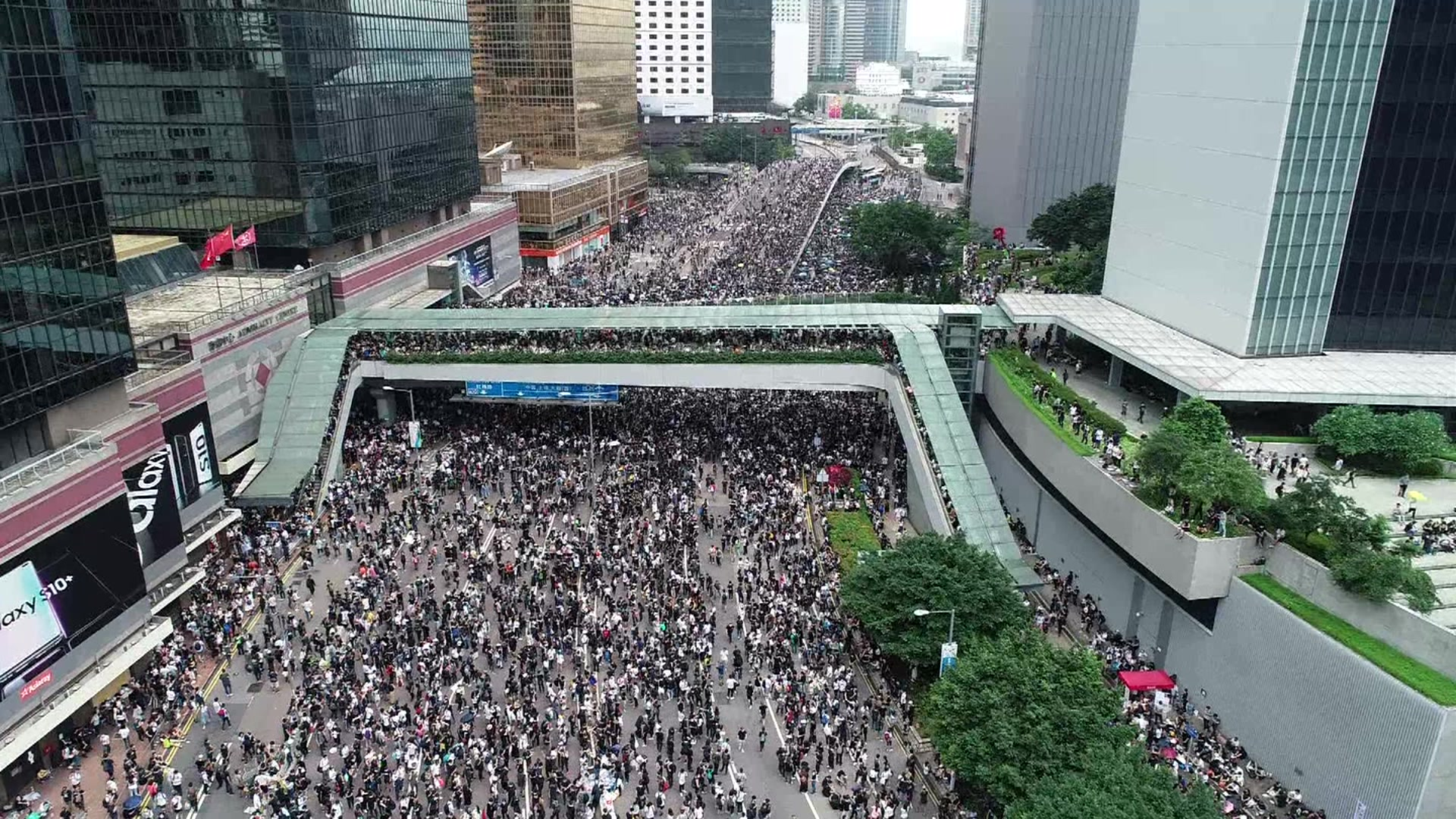 How strangers mobilised against Hong Kong police
