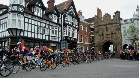 Riders in Beverley