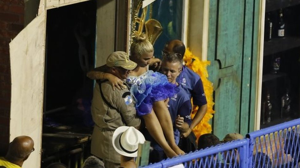 Rio carnival marred by fresh accident as float collapses