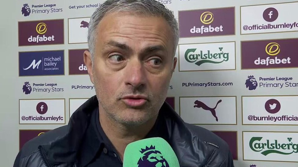 Burnley 0-2 Man Utd: It was a great result that we deserved - Jose Mourinho