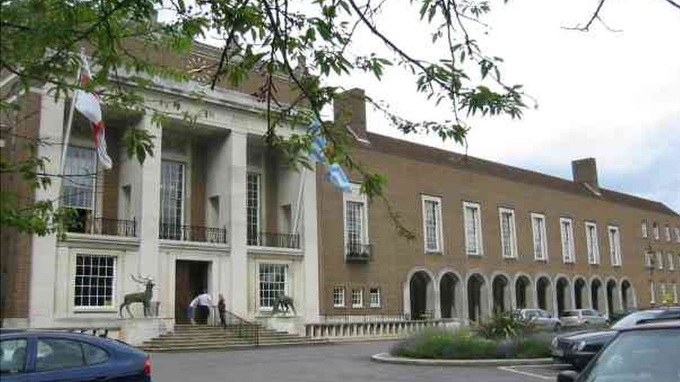 County Hall, Hertford
