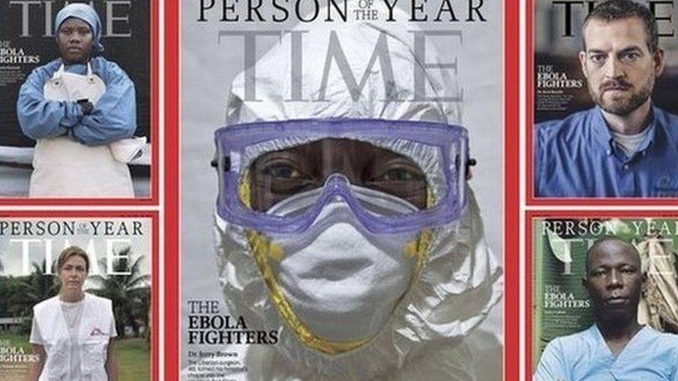Tapa de la Revista Time