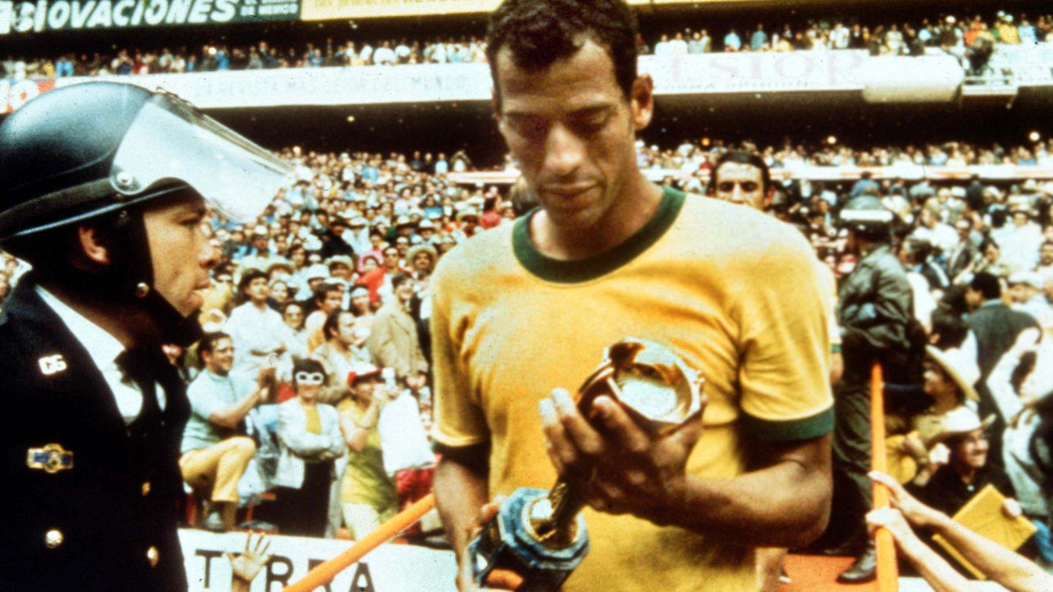 Carlos Alberto: Brazil legend dies aged 72 after heart attack