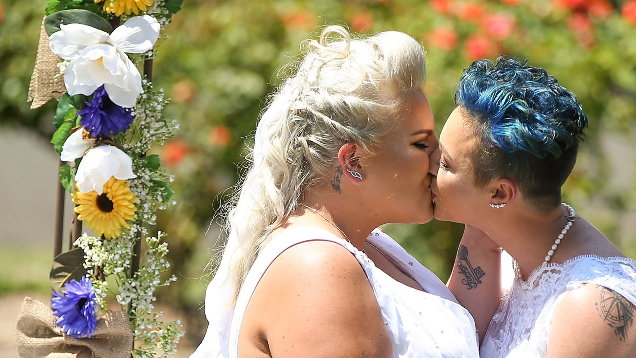 Australia's first same sex wedding takes place