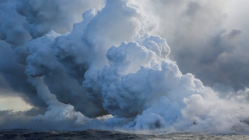 Hawaii volcano: Warning of toxic gas plumes from Kilauea