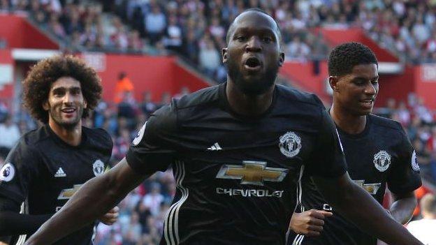 Lukaku strikes as Man Utd win at Southampton