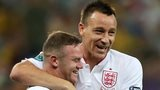 John Terry and Wayne Rooney