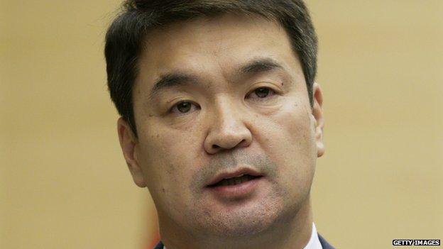 Mongolian Prime Minister Chimed Saikhanbileg