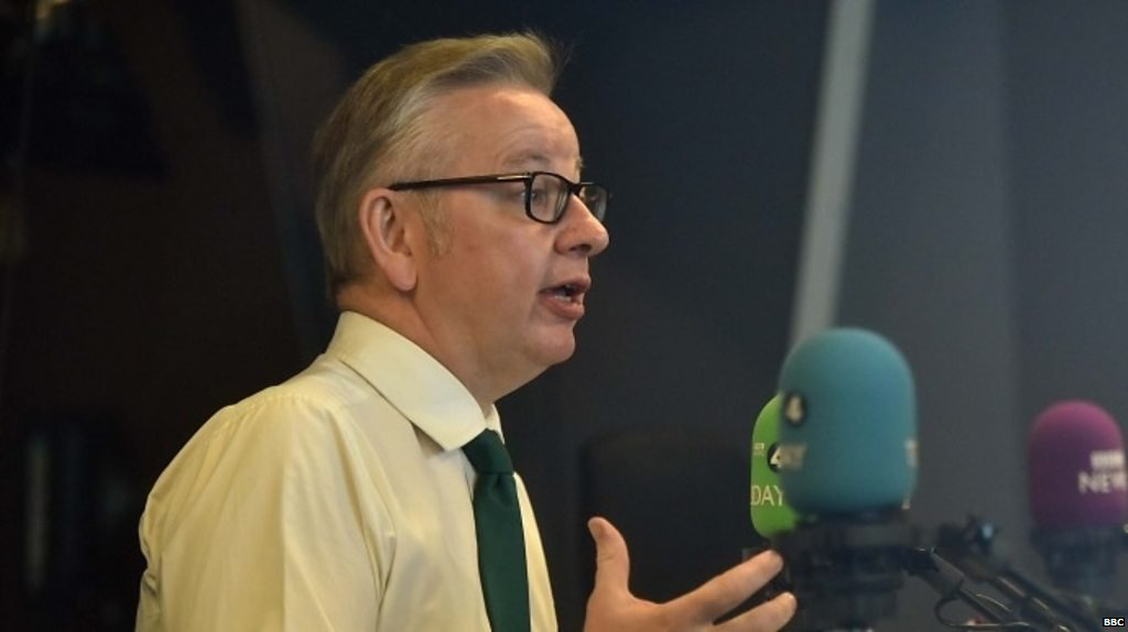 Michael Gove uses Manchester United analogy for crucial Brexit vote
