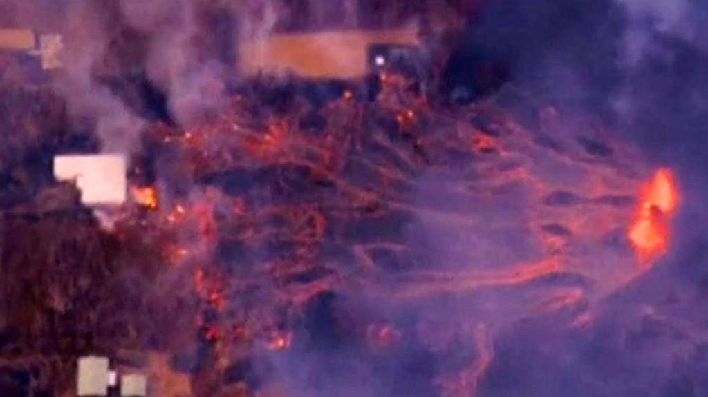 Kilauea volcano: Hawaii homes destroyed by lava | BBC