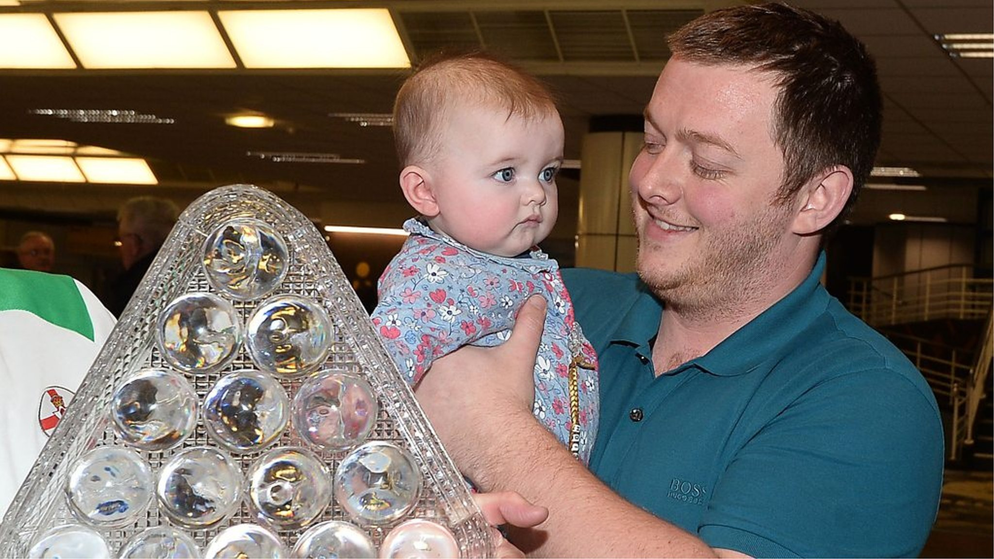 Mark Allen welcomed home after Masters triumph