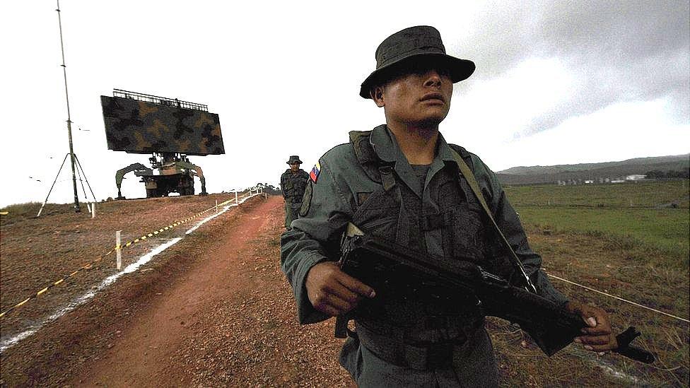 """""""No creo que Maduro esté lo suficientemente loco para atacarnos"""": el v ..."""