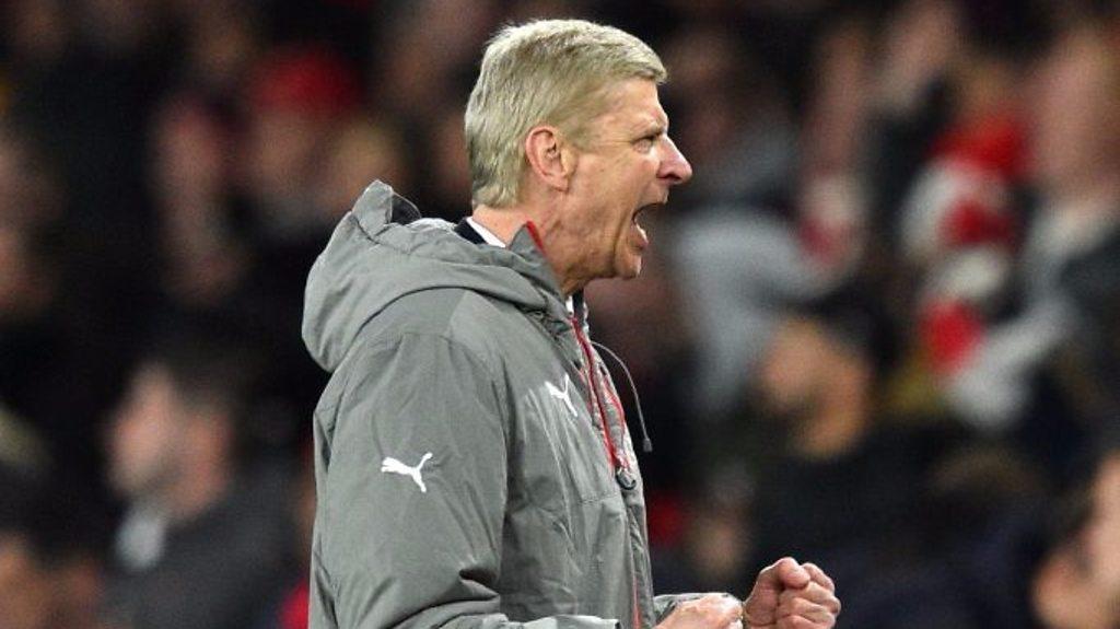 Arsenal 1-0 Leicester: Arsene Wenger praises Gunners' hunger