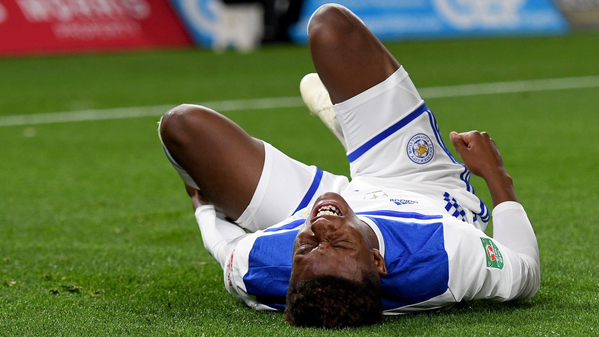 Leicester winger Gray out for up to six weeks