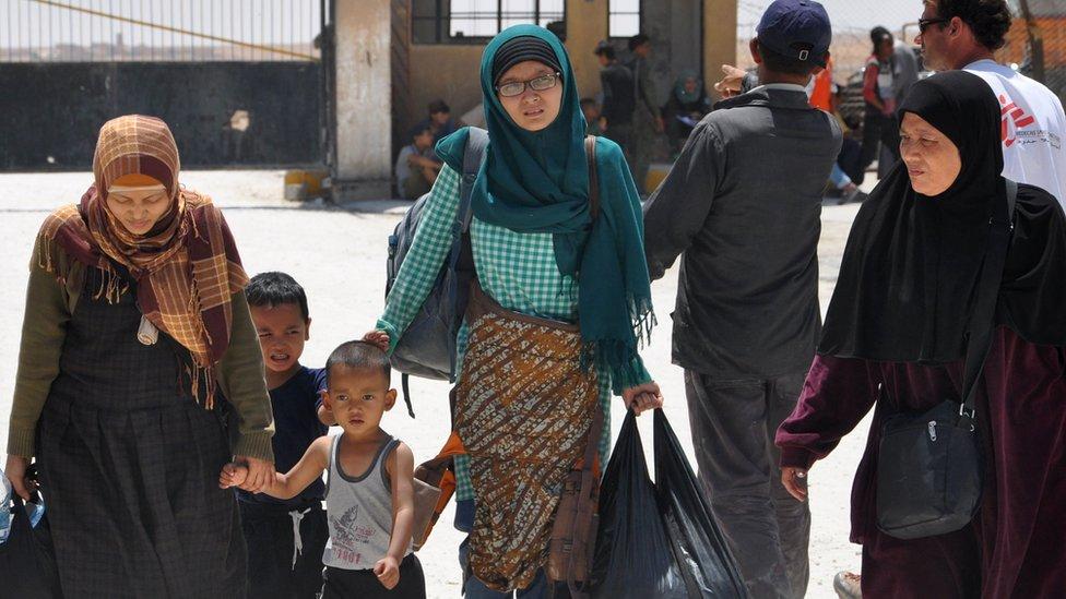 WNI di Suriah