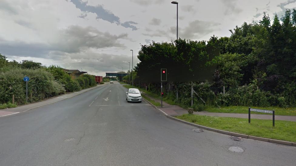 Boy, 10, riding bike dies in crash with lorry in Wisbech