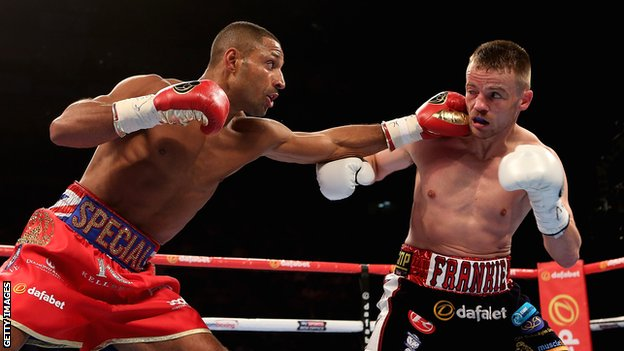 Kell Brook and Frankie Gavin