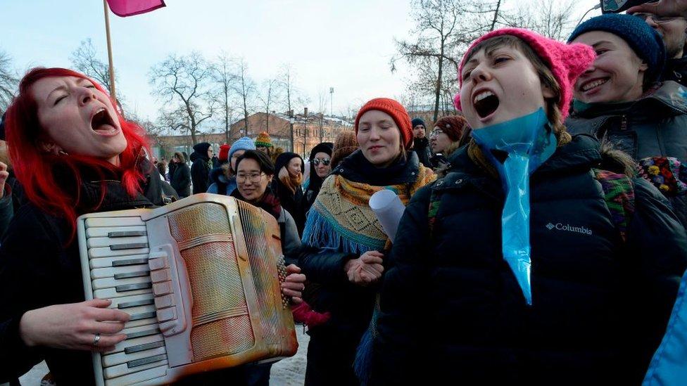 Mujeres rusas.