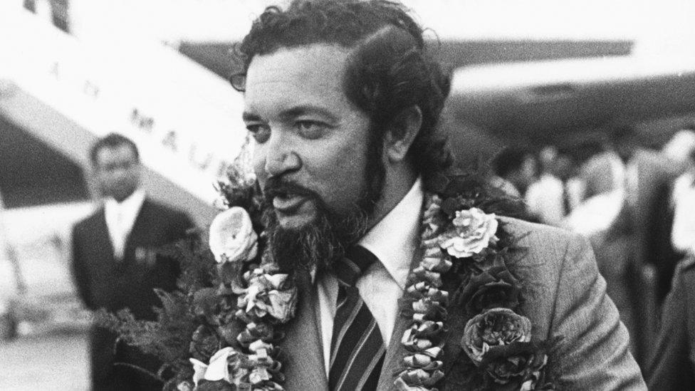 Former Seychelles President James Mancham