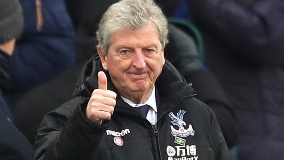 Leicester 0-3 Crystal Palace: Christian Benteke has shown strong character - Roy Hodgson