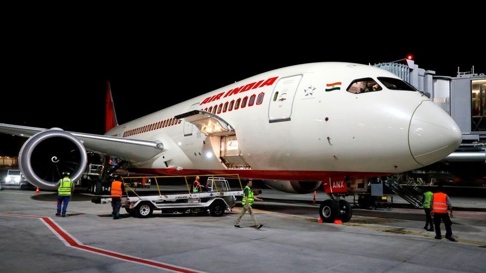 Air India flight attendant falls from plane